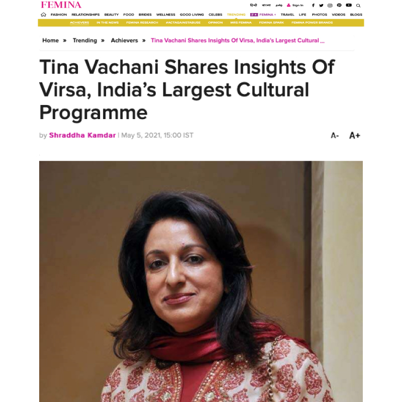 Tina Vachani Shares Insights of Virsa, India's Largest Cultural Programme